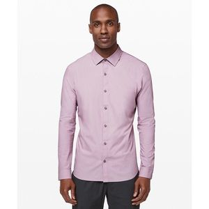 LuluLemon: 'Down to the Wire' Slim Fit Buttondown